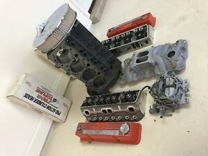 Chevy 383 Set Up With Clearanced 350 4 Bolt Main Block