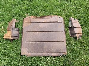 1961 1967 Ford Econoline Belly Pan Extensions Pickup Falcon Van 61 62 63 64 65