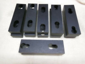 Rapid Change 6 Aluminum Vise Jaws For Kurt Vises 8 Sets