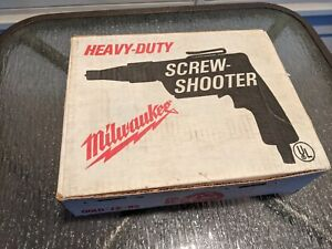 Heavy Duty Milwaukee Screw Shooter 6798 1 Straight Attachment Tool New In Box