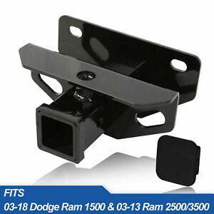 Towing Trailer Hitch Receiver For 2003 2020 Dodge Ram 1500 2500 3500 Class 3