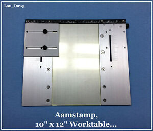 Aamstamp Machine 10 X 12 Worktable Hot Foil Stamping Machine