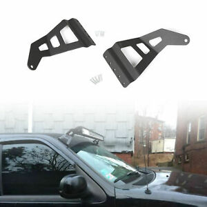 For 97 03 Ford F 150 F150 50 Straight Curved Roof Led Light Bar Mount Bracket