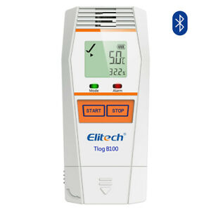 Elitech Tlog B100 Temperature Data Logger Reusable Wireless Temperature Recorder