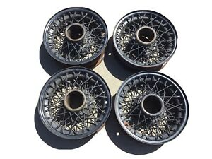 Vintage 16 Rolls Royce Wire Wheels 1936 1937 1938 1939 Bentley