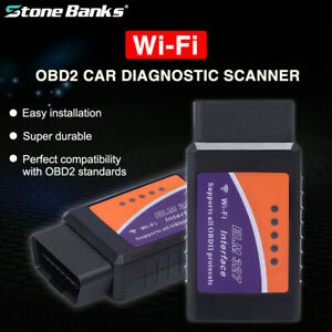 Elm327 Wifi Bluetooth Obd2 Obdii Auto Diagnostic Scanner Phone Code Reader Tool