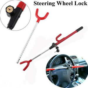Universal Anti Theft Protection Security Auto Car Suv Truck Steering Wheel Lock