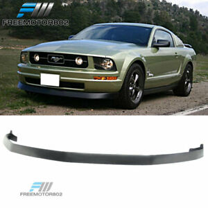 Fits 05 09 Ford Mustang V6 Front Bumper Lip Spoiler Pu