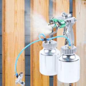 Professional Polyurethane Spray Foam Machine Automatic Spray Gun 2x 1000ml Pot