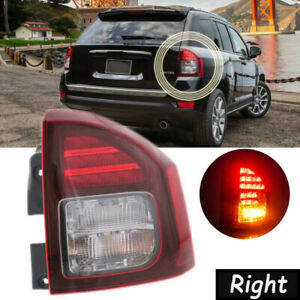 For 2014 2017 Jeep Compass Right Side Led Rear Tail Brake Turn Signal Light