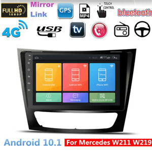 For Mercedes Benz W211 E Cls 9 Inch Android 10 1 Car Stereo Radio Gps Navi 2 32g