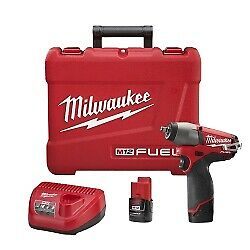 Milwaukee Electric Tools 2454 22 M12 Fuel 3 8 Imp Wrench Kit