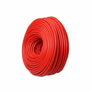 Red 5 16 8mm Vacuum Silicone Hose Intercooler Coupler Pipe Turbo 50 Feet