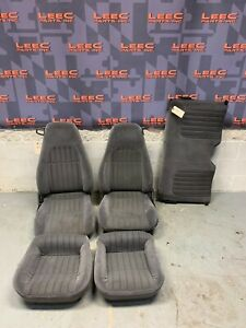 1998 Chevrolet Camaro Z28 Oem Grey Cloth Front Rear Seats