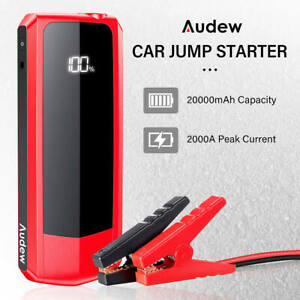 20000mah Emergency 1500a Car Jump Start Auto Battery Boost Charger Power Bank