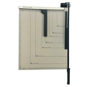 Guillotine Paper Cutter Precision 18 Trimmer Base A3 Office Bindery Equipment