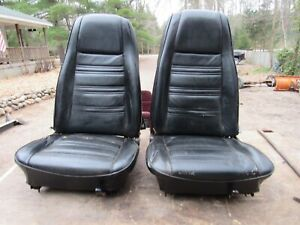 70 Ford Mustang Mach 1 Bucket Seats
