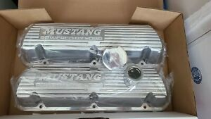 1986 1993 Ford Performance Mustang Efi 5 0l Polished Valve Covers m 6000 f302