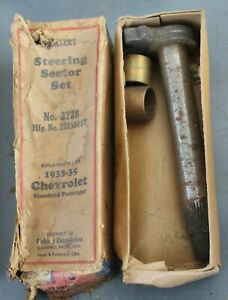 1933 1934 1935 Chevy New Steering Sector Br