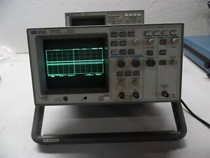 Hp 54600a 100mhz 2 Channel Oscilloscope With Hp 54650a Hp ib Inferface