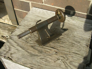 Vintage Lathe Tailstock For 7 Swing Lathe