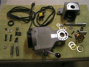 Servo Power Feed Mounting Kit kp 0640 For A Bridgeport Brand New Mill Table