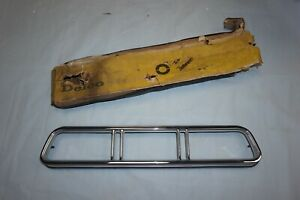 1967 Chevrolet Impala Bel Air Caprice Left Tail Light Lamp Bezel Nos Gm 5958789
