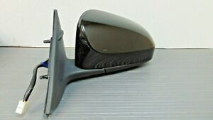 2009 2010 2011 2012 2013 Toyota Corolla Black Left Driver Door Mirror No Heat Oe