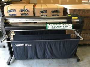 Graphtec Fc8000 130 54 Professional Vinyl Cutter Stand Nj Pickup Or Freight