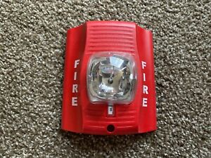 System Sensor Sr Spectralert Advance Fire Alarm Remote Strobe Wall Red