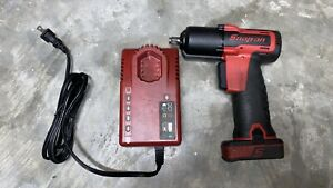 Snap On Cordless 3 8 Impact Wrench Ct761a With Battery Charger