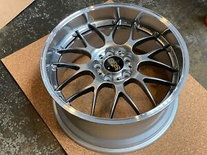 Bbs Rsgt Rs949hdbpk 19x9 5 5x120 Et40 Diamond Black Showroom Wheel