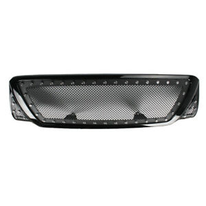 Front Center Bumper Grill Grille Mesh Rivet Style Fits 2006 2010 Toyota Tacoma