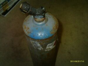 Mc 10 Cf Acetylene Tank Cylinder Cga200 Valve Welding Tank Usa no Handle