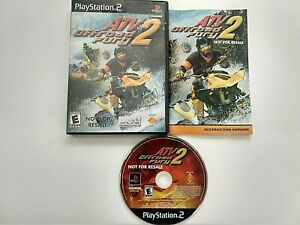 ATV Offroad Fury 2 PlayStation 2 PS2 Not For Resale Videogame Everyone Complete