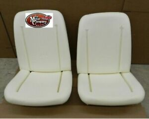 1969 1970 Chevelle Bucket Seat Foam Bun Set Of 2 Made In The Usa In Stk