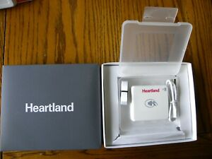 Heartland Mobile Pay Emv Contactless Card Reader W charging Stand