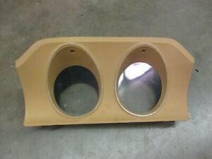 Ford Maverick Dash Bezel Trim Gauge Cluster Comet Mercury Tan 70 71 72 75 76 77