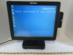Pioneer Pos Asterix Touch x5 Cash Register Computer Touchscreen Windows Xp Sku A