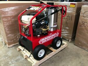 New 2021 Easy kleen Magnum 4000 Series Hot Water Pressure Washer Diesel Burner