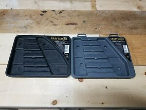 Craftsman Professional 5pc Polished Flare Nut Line Wrench Metric Sae Cases Only