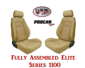 Procar Full Bucket Seats 80 1100 67 Elite 1100 Series For 1989 95 Ford Bronco