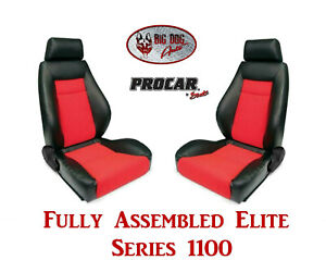 Procar Full Bucket Seats 80 1100 90 Elite 1100 Series For 1978 79 Ford Bronco
