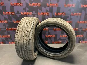 Goodyear Eagle Sport 215 45 17 Used Tires Pair 8 9 32