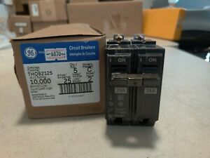 Lot Of 20 Thqb2125 General Electric Circuit Breakers 2 Pole 25 Amp