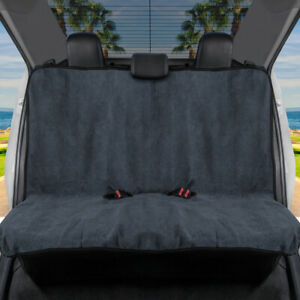Gofit Towel Car Seat Cover Waterproof Rear Bench Cover With Black Trim