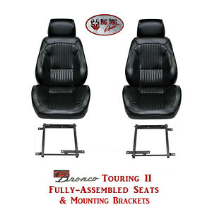 Standard Touring Ii Seats Brackets For 1968 77 Ford Bronco S Any Color