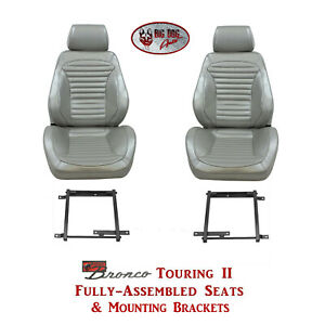 Standard Touring Ii Seats Brackets For 1966 Ford Bronco S Any Color