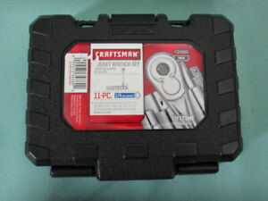 Craftsman Socket Wrench Set 11pc 1 4 Drive In Case 934860