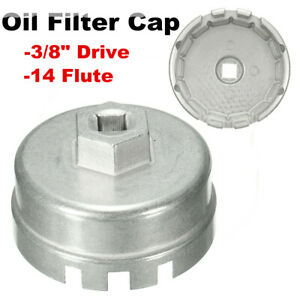 For Toyota Prius Corolla Camry Rav4 Oil Filter Cap Wrench Tool Aluminum Us